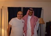 Abdu (Arábia Saudita) nosso intercambista em agosto/setembro 2013.